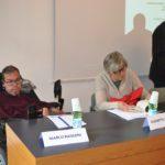 Due dei relatori: il Presidente di Ledha Milano, Marco Rasconi (per Cenni di Cambiamento) ed Elisabetta Sormani per Fondazione I Care