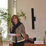 La Presidente di Anffas Milano Onlus, Rossella Collina, dà il via ai lavori