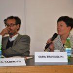 L'Assessore ai Lavori Pubblici e Casa, Gabriele Rabaiotti e per la Cooperativa DAR = Casa, Sara Travaglini