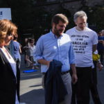 L'Assessore Pier Francesco Majorino e la Presidente di Anffas Milano Onlus, Rossella Collina