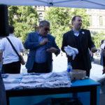Portavoce e vice portavoce del Forum Terzo Settore Milano, Paolo Petracca e Felice Romeo