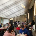 Il pranzo nella Trattoria Solidale