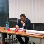 Il Dott. Giovanni Rollero durante il suo intervento iniziale di approfondimento del tema