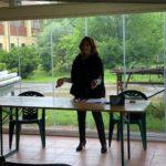 Rossella Collina, Presidente di Anffas Milano Onlus, in un momento dell'Assemblea